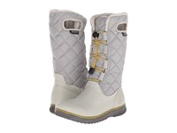 Bogs Juno Lace Tall Light Gray Women's Cold Weather Boots