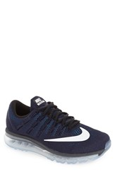 Nike Men's 'Air Max 2016' Running Shoe Obsidian White Black Royal