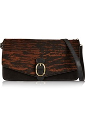 Isabel Marant Laith Suede Shoulder Bag Black