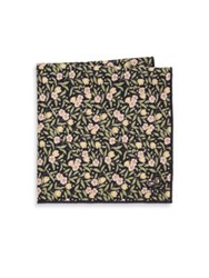 Hook Albert Floral Cotton Pocket Square Multi