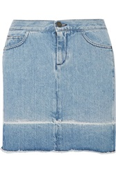 Mm6 Maison Margiela Denim Mini Skirt