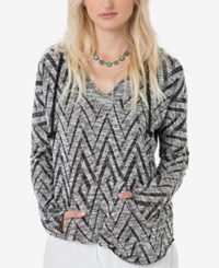 O'neill Juniors' Remi Pullover Hoodie Sweater Black Grey