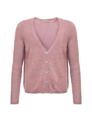 Garcia Cardigan With Split Back Pink