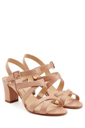 Paul Andrew Leather Sandals Beige
