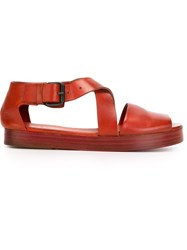 Marsell Marsell Criss Cross Strap Sandals