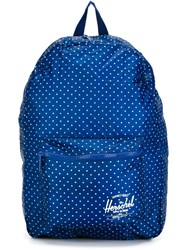 Herschel Supply Co. Polka Dot Backpack Blue