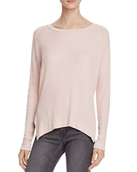 Velvet By Graham And Spencer Thermal Knit Tee 100 Bloomingdale's Exclusive Cerise