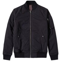 Rick Owens Drkshdw Padded Flight Jacket Black