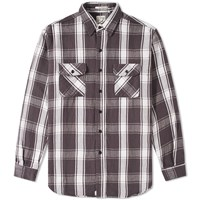Orslow Vintage Flannel Shirt Black