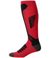 Spyder Sport Merino Sock Red Black Polar Men's Knee High Socks Shoes