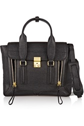 3.1 Phillip Lim The Pashli Medium Textured Leather Trapeze Bag