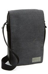Men's Hex Water Resistant Macbook Air Crossbody Bag Grey 11 Inch Charcoal