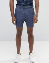 Selected Cotton Shorts Blue