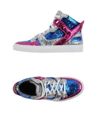 Giacomorelli High Tops And Trainers Bright Blue
