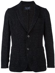 Armani Jeans Knitted Blazer Blue