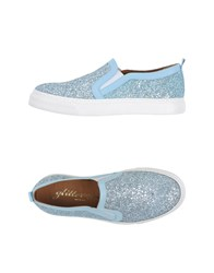 Glitter Pink Footwear Low Tops And Trainers Women Sky Blue