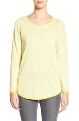 Eileen Fisher Organic Linen And Cotton Ballet Neck Tunic Quince