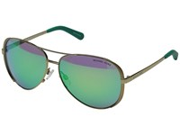 Michael Kors Chelsea Gold Green Mirror Fashion Sunglasses