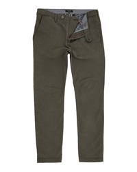 Ted Baker Serny Slim Fit Chinos Olive