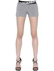 Dsquared Logo Waistband Jersey Shorts