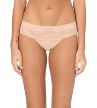 Wacoal Sheer Enough Lace Briefs Mahogany Rose