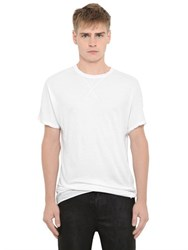Isabel Benenato Essential Cotton Jersey T Shirt