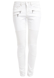 Opus Evora Fresh Slim Fit Jeans White