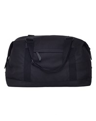 The Idle Man Vintage Overnight Bag Black