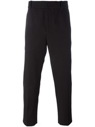 3.1 Phillip Lim Cropped Tapered Trousers Black