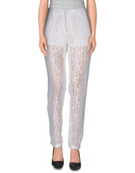 New York Industrie Casual Pants White