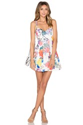 Lovers Friends X Revolve Abbie Fit And Flare Dress White
