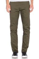 Naked And Famous Slim Chino Stretch Twill Army