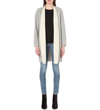 Rag And Bone Singer Wool Coat Grey Cream