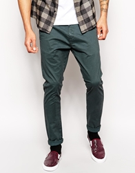 Dr. Denim Dr Denim Chinos Heywood Skinny Fit Dark Grey