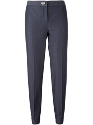 Salvatore Ferragamo Tailored Trousers Blue