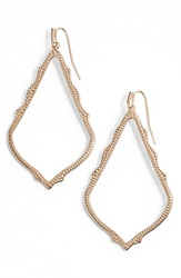 Kendra Scott 'Mystic Bazaar Sophee' Drop Earrings Rose Gold