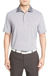 Peter Millar Men's 'Jubilee' Moisture Wicking Stripe Golf Polo