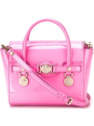 Versace 'Signature' Tote Pink And Purple
