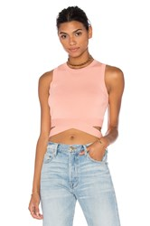 Endless Rose Knit Sleeveless Top Peach
