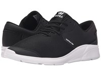 Supra Noiz Black White Men's Skate Shoes