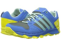 Adidas Kanadia 7 Trail Gtx Ray Blue Ice Green Shock Slime Women's Shoes