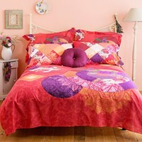 Desigual Romantic Patch Duvet Cover Super King