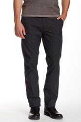 Star Usa By John Varvatos Striped Slim Fit Pant Blue