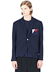 Marvielab One Button Wool Jacket