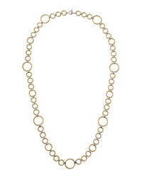 Alor Classique Twisted Circle Link Necklace