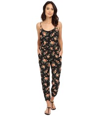 Bb Dakota Linette Rose Revival Printed Crepon Jumpsuit Multi Women's Jumpsuit And Rompers One Piece
