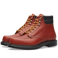 Red Wing Shoes 8804 Heritage Work 6 Moc Chevron Boot Brown