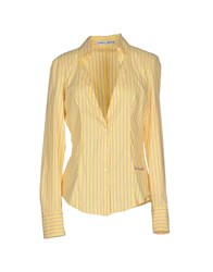 Frankie Morello Shirts Shirts Women Yellow