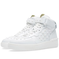Valentino High Top Sneaker White