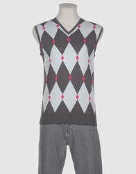 Become Knitwear Sweater Vests Men Green